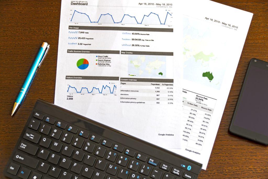 Przykładowy druk wyników analizy